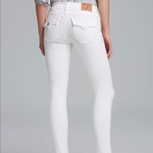 True Religion Serena White Jeans
